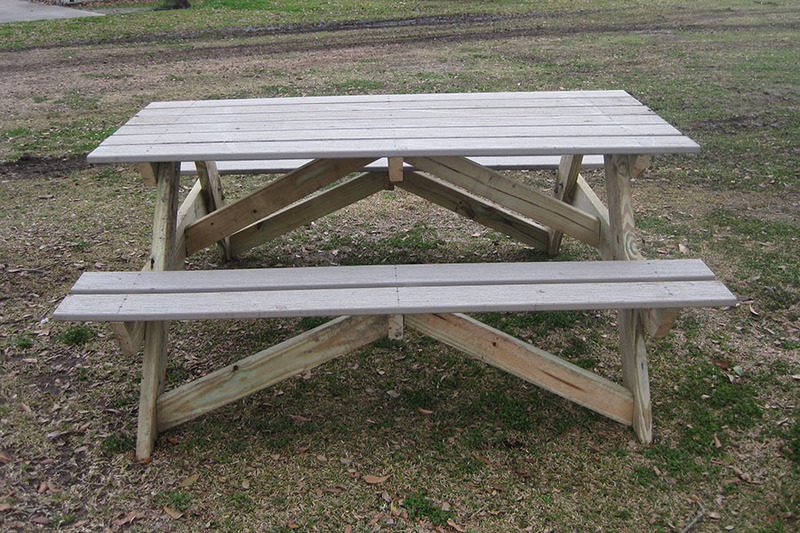 Wondrous How To Build A Picnic Table Kaboom Dailytribune Chair Design For Home Dailytribuneorg