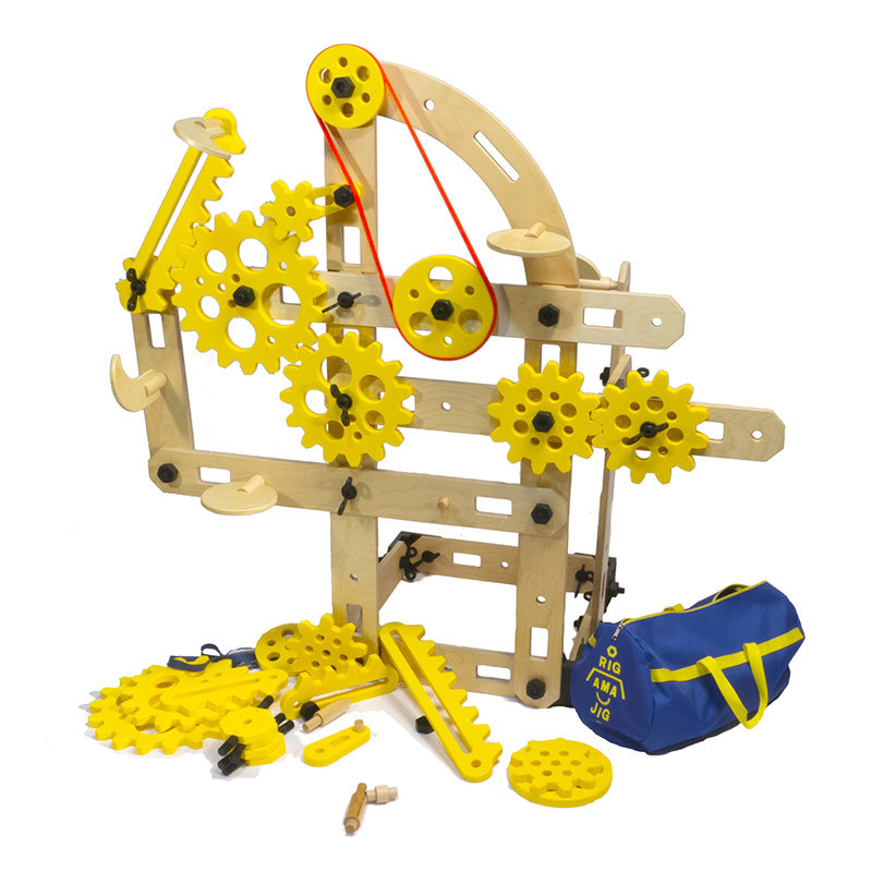 Rigamajig® Simple Machines Add-On Kit