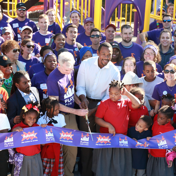 KaBOOM! 3000th playground build