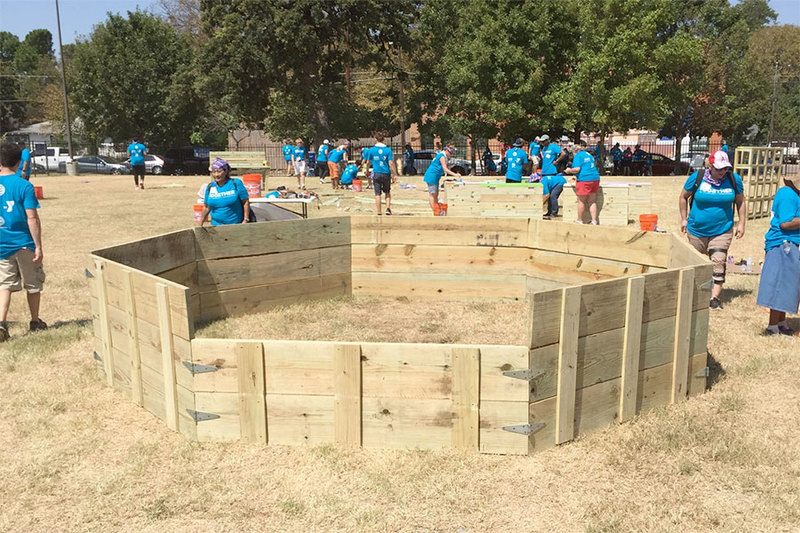 Gaga pit complete - fro