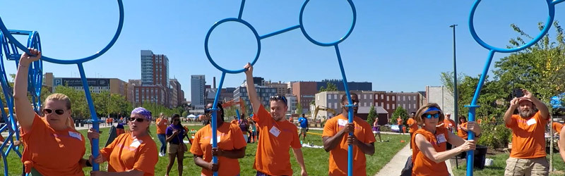 Reinvigorating an East Baltimore community with a new playground